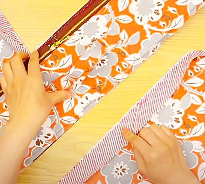 How To Sew A Suitcase - Sew A Zipper Case - Overnight Bag Ideas