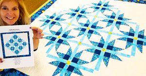 Cathedral Stars Quilt With Free Pattern
