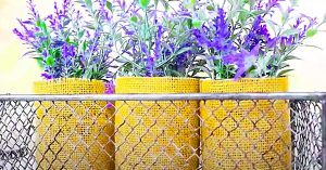 Dollar Tree Dupe: DIY Hobby Lobby Faux Plant Basket