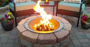 $55 DIY Fire Pit