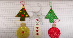 DIY Fabric Ornaments