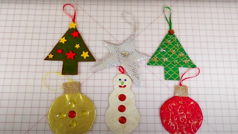 DIY Fabric Ornaments | DIY Joy Projects and Crafts Ideas