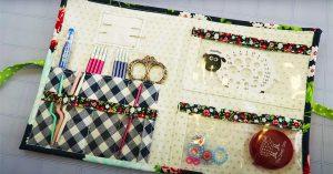 DIY Knitting Supply Caddy