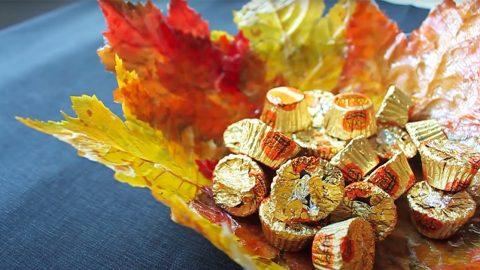 DIY Leaf Bowl   DIY Joy Projects and Crafts Ideas