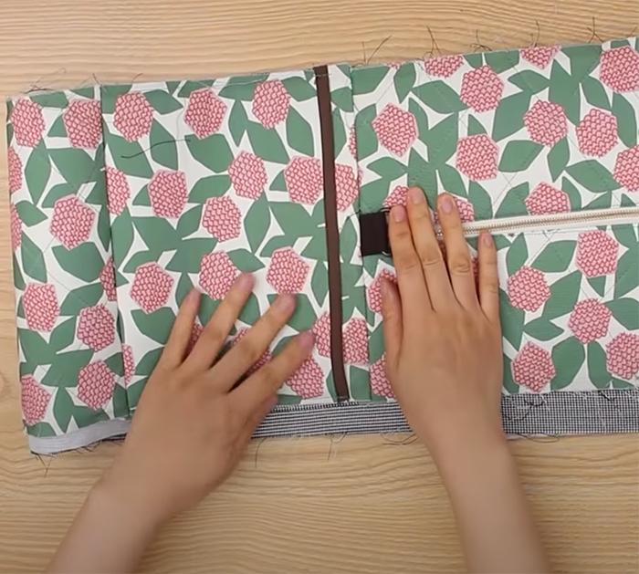 DIY Big Travel Bag - Carrying Case Tutorial - Easy Sewing Methods - DIY Portable case