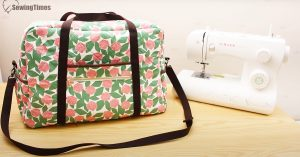 DIY Sewing Machine Travel Case