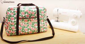 DIY Sewing Machine Travel Case