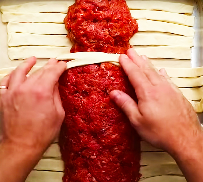 How To Make Halloween Mummy Meatloaf - Halloween Food Recipes