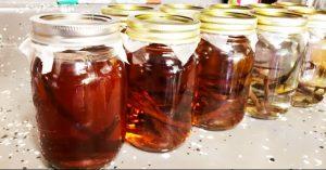 Homemade Vanilla Extract for Holiday Gift Idea
