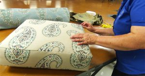 How To Recover A Cushion On A Recliner