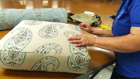 How To Recover A Cushion On A Recliner | DIY Joy Projects and Crafts Ideas