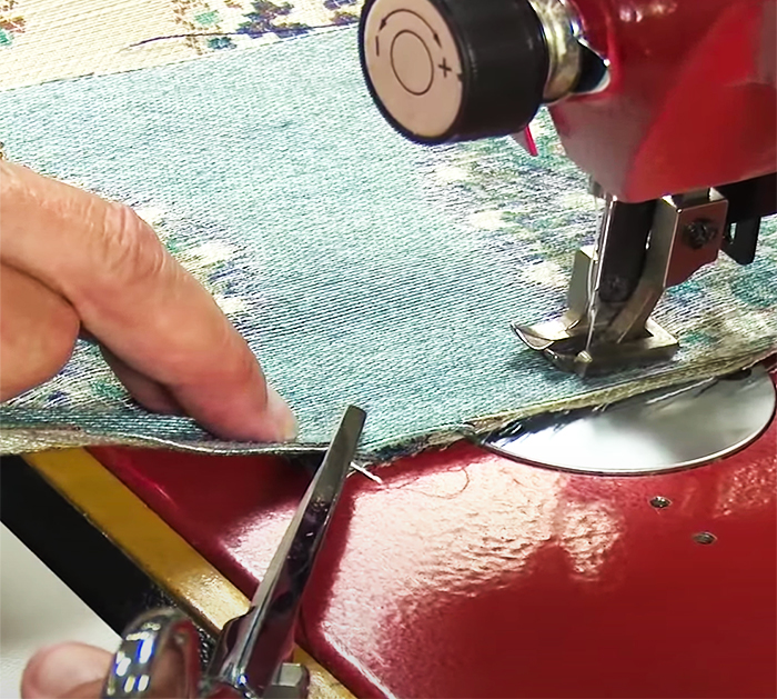Dissemble Seat Cushions For New Cushion - DIY Sewing