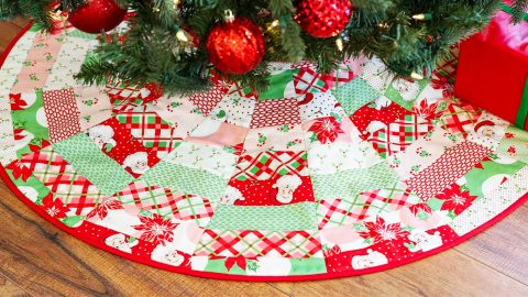 June Tailor S Quilt As You Go Tree Skirt
