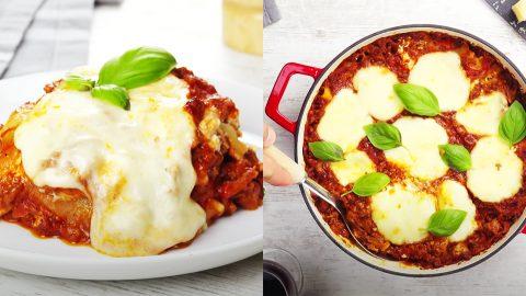 One-Pot Lasagna Recipe | DIY Joy Projects and Crafts Ideas