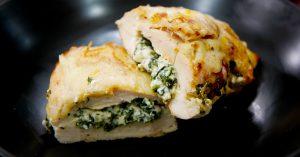 Ricotta And Spinach Stuffed Chicken Recipe