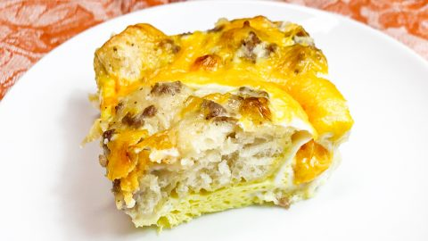 Sausage Gravy, Biscuit, And Egg Casserole Recipe | DIY Joy Projects and Crafts Ideas