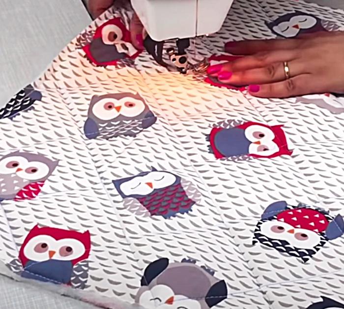 Baby Nest Idea - Cosy Envelope Blanket - Easy Sewing Idea