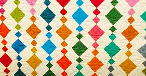 Donna Jordan's Beads Quilt With Free Pattern