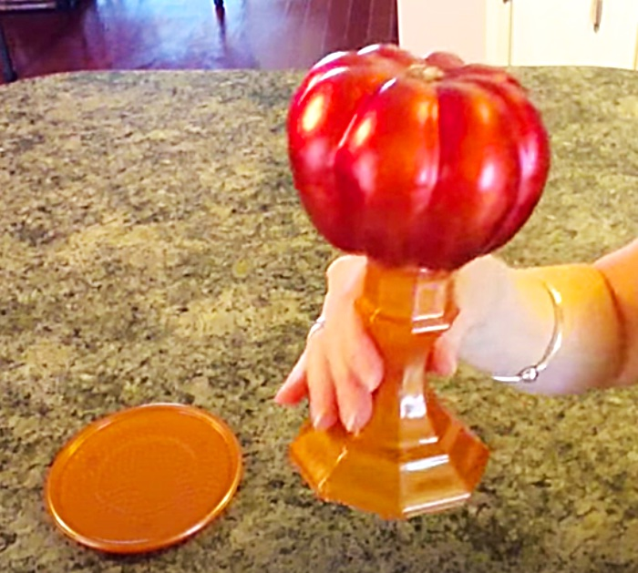 DIT Candle Holders - DIY Decorative Pumpkin Project - How To Make Candle Holders