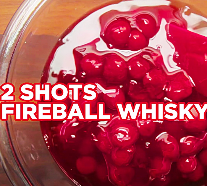 Fireball Cheesecake Shots Recipe - Cocktail Shots - Dessert Shots