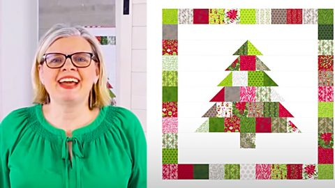 Christmas Quilt With Free Pattern