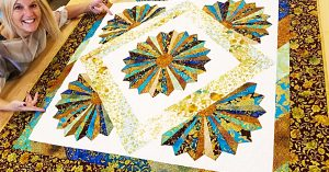 Dresden Bloom Quilt With Donna Jordan