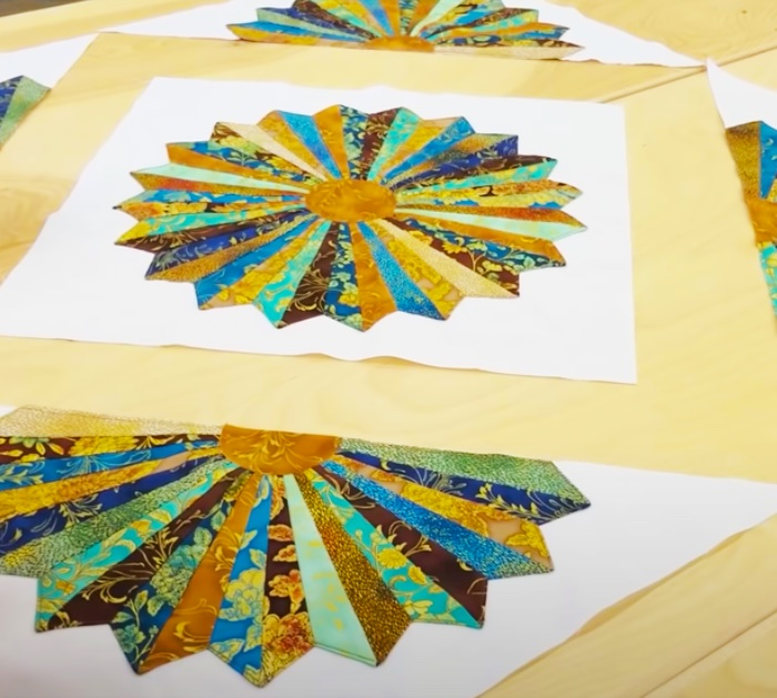 Dresden Quilting Idea - Old School Quilt - Advances Level Quilt