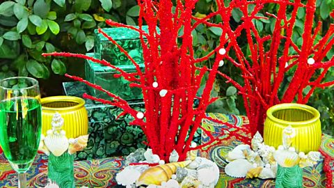 How To Make A Faux Coral Centerpiece | DIY Joy Projects and Crafts Ideas