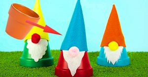 How To Make Clay Pot Gnomes