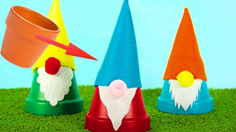 How To Make Clay Pot Gnomes | DIY Joy Projects and Crafts Ideas