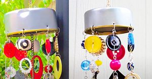 How To Make DIY Junk Drawer Wind Chimes