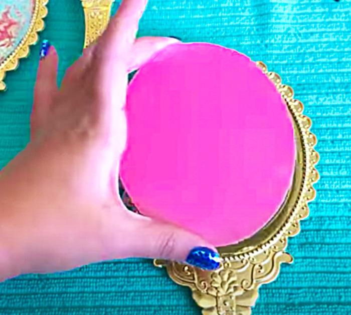 DIY Key Hook Project - Mirror Ideas - DIY Decorating Ideas