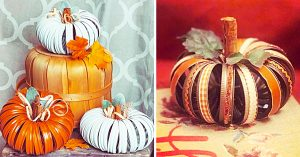 How To Make a Mason Jar Lid Pumpkin