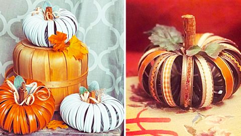 How To Make a Mason Jar Lid Pumpkin | DIY Joy Projects and Crafts Ideas