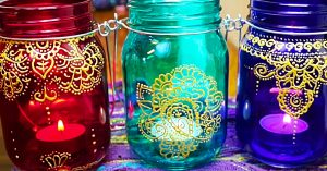 Dollar Tree DIY Moroccan Lanterns
