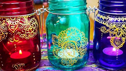 Dollar Tree DIY Moroccan Lanterns | DIY Joy Projects and Crafts Ideas