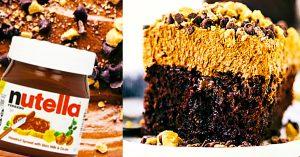 Nutella Poke Cake Recipe