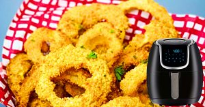 How to Make Homemade Onion Rings In An Air Fryer