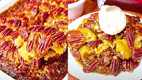 Pecan Cobbler Recipe | DIY Joy Projects and Crafts Ideas