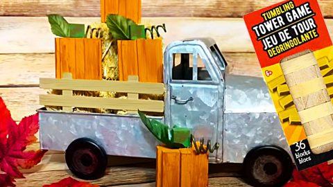 Dollar Tree DIY Tumbling Tower Pumpkins | DIY Joy Projects and Crafts Ideas