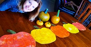 How To Make A Quilted Pumpkin Table Runner