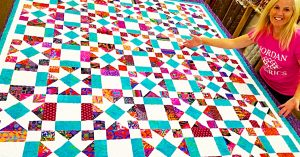 Star Power Quilt With Donna Jordan