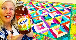 Tea Time Quilt With Free Pattern