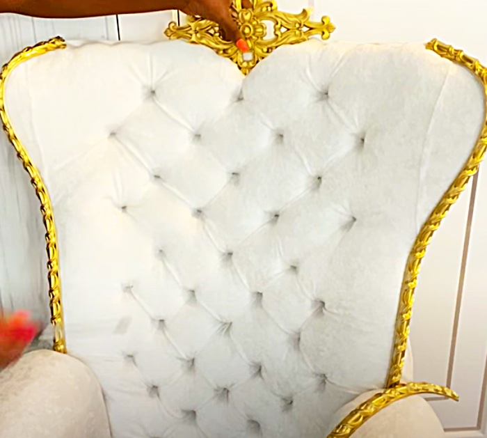 How To Build A Fancy Chair - DIY Throne Chair - Elegant Decor Ideas
