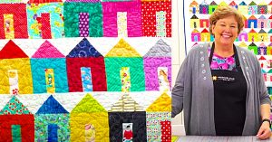 How To Make A Tiny House Quilt With Jenny Doan