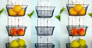 Dollar Tree Wall Mounted Fruit Baskets