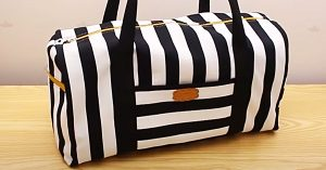 How To Sew A Weekender Bag With Free Pattern