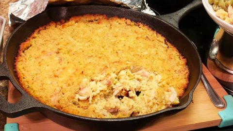 Chicken And Dressing Casserole Recipe   DIY Joy Projects and Crafts Ideas