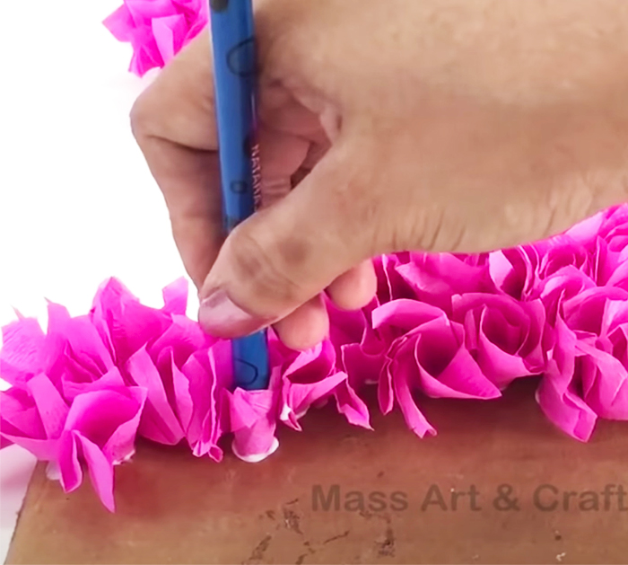 DIY 3D Floral Numbers for Party - DIY Crepe Paper Crafts - 3D Floral Letters