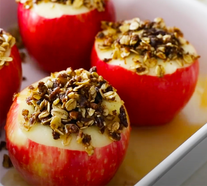 Oven Baked Apples Recipe - Baked Apple Recipes